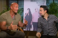 WATCH: Dwayne Johnson and Lin-Manuel Miranda's 'Millennials: The Musical'