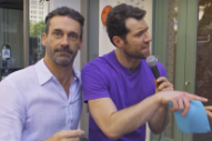 WATCH: Jon Hamm Wants to Know If You'd Have a Threesome with Him and Billy Eichner