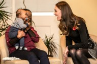 These Photos of Kate Middleton Bonding with a Baby Are the Cutest