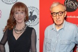 WATCH: Kathy Griffin Recalls 'Creepy' Encounter with Woody Allen