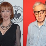 Kathy Griffin Recalls 'Creepy' Encounter with Woody Allen