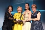 Hillary Clinton Surprises Katy Perry as She Receives UNICEF's Audrey Hepburn Humanitarian Award