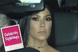 Kourtney Kardashian's Secret to Shiny Hair Leads Today's Star Sightings