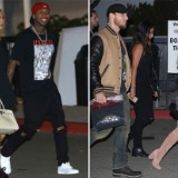 Kylie Jenner and Hilary Duff Take Their Boyfriends to See Kanye West