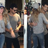 Taylor Lautner Goes Shopping with a Mystery Blonde in L.A.