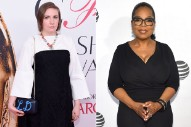 Lena Dunham and Oprah Winfrey Break Their Silence Following Donald Trump's Shocking Victory