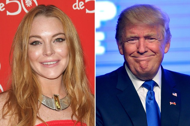 Lindsay Lohan Invited Donald Trump to Tour Syria and Turkey with Her