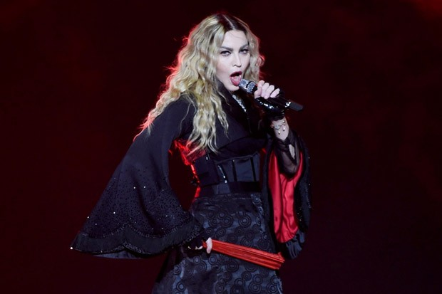 Madonna on Her 'Rebel Heart Tour' at Manchester Arena