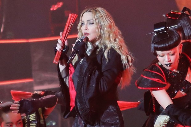 Madonna Performs in Vancouver, Canada
