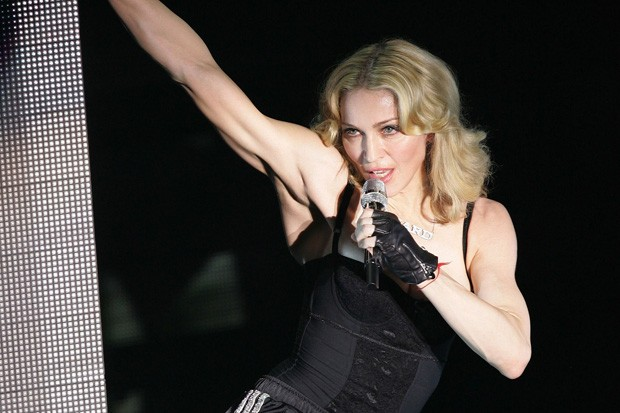 Madonna Performs In Paris **FILE PHOTOS**