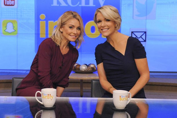 Megyn Kelly Visits 'Live with Kelly'