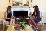 Michelle Obama and Melania Trump Hung Out and More Celebrity News