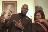 Michelle Obama Does The Mannequin Challenge at White House and More Celebrity News