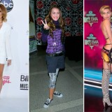 Miley Cyrus's Style Evolution