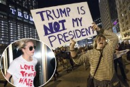 Celebs Speak Out on Post-Election Protests as Bethenny Frankel Calls Anti-Trump Supporters 'Moronic'