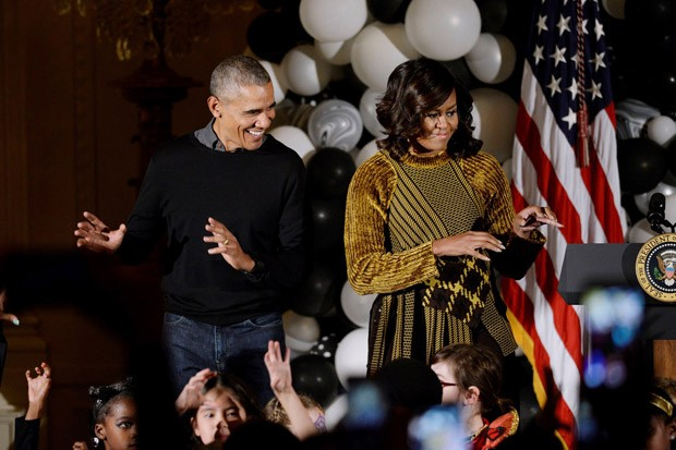 Barack Obama Celebrates His Last White House Halloween