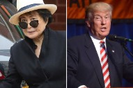 Yoko Ono's Response to Donald Trump Becoming President Might Just Make Your Day