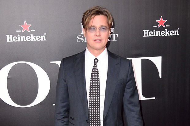 Brad Pitt at 'The Big Short' Premiere in New York