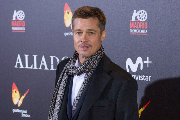 Brad Pitt on the Red Carpet for 'Allied'