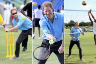 Prince Harry Played So Many Sports While Visiting the Caribbean