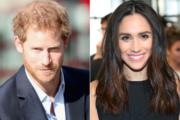 Image result for Prince Harry praised for Meghan Markle statement