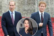 Prince William Shows Support for Prince Harry and Meghan Markle's Relationship