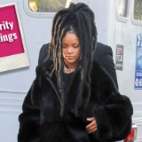 Rihanna Hits the Set of 'Ocean's Eight'