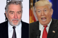 Robert De Niro Compares Donald Trump's Election Win to 9/11