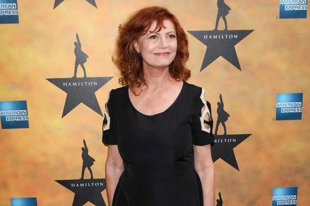 Susan Sarandon at the Opening of 'Hamilton'