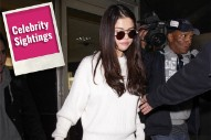 Selena Gomez and Her Self-Help Book Lead Today's Star Sightings