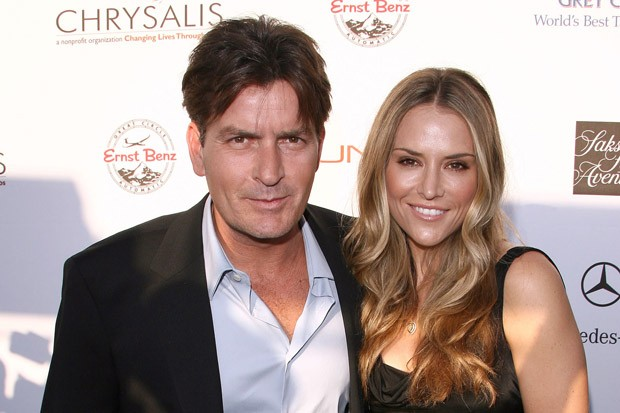 Happier Days in Charlie Sheen and Brooke Mueller's Relationship