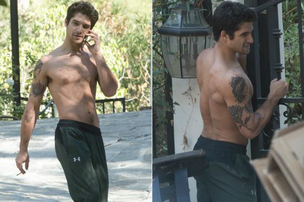 tyler posey shirtless