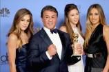 Sylvester Stallone's Three Daughters Jointly Named Miss Golden Globes 2017