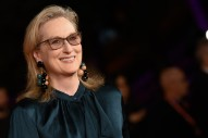 Meryl Streep Is Coming to TV and Will Make a Pretty Penny for Every Episode