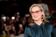 Meryl Streep to Receive the Cecil B. DeMille Award at the 2017 Golden Globes