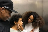 Tina Knowles Posts and Deletes Photo of Solange and Jay Z in an Elevator