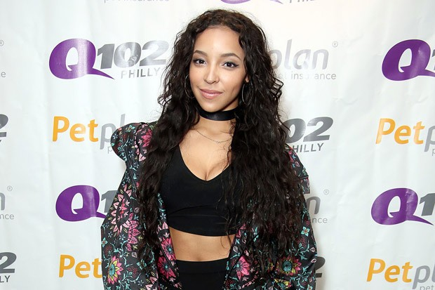 Tinashe Visits the Q102 Performance Studio