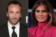 Tom Ford 'Declined' to Dress Melania Trump Years Ago