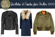 Tuesday Ten: 10 Fall Jackets and Winter Coats for Under $100