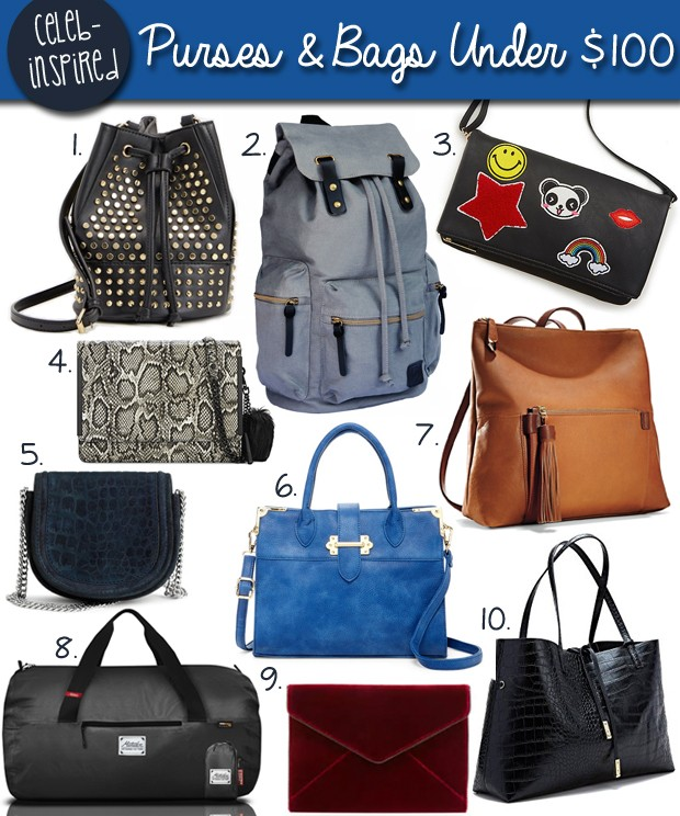 Purses and Bags for Under $100