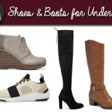Fall Shoes and Winter Boots for Under $100