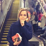 Emma Watson Is Literally Taking Her Love of Books Underground
