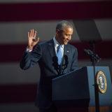Where Was Sasha Obama During President Obama's Farewell Speech?