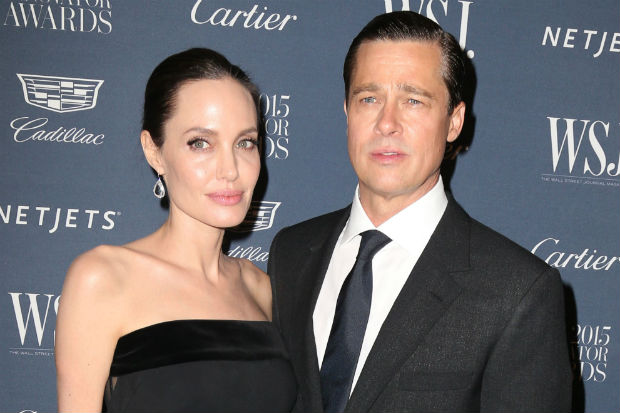 angelina jolie brad pitt divorce