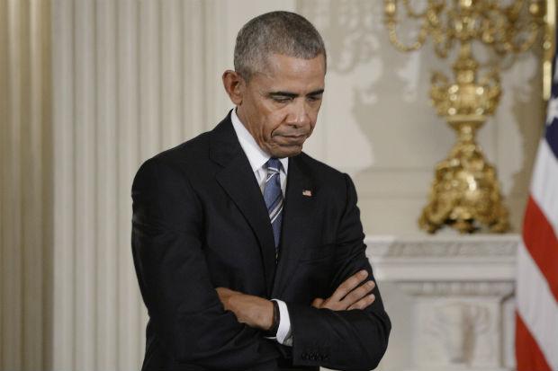 president barack obama sad