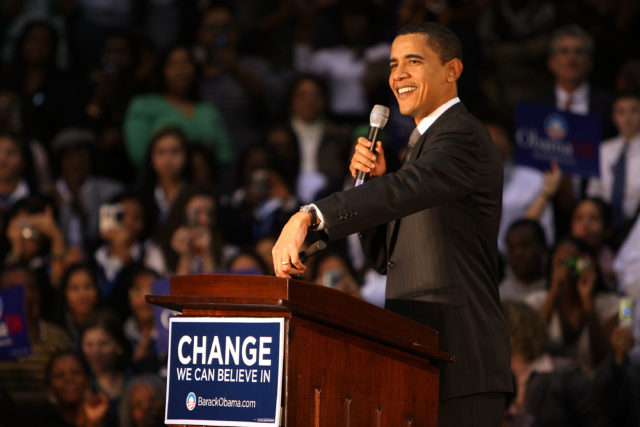 Obama Holds