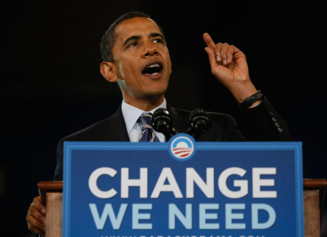 Barack Obama Campaign Weeks Away From Election Day
