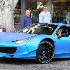 Guess What the Winning Bid Was on Justin Bieber's 'First Ferrari'