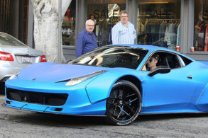 Justin Bieber Auctions Off His Ferrari