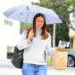52279310 Actress and busy mom Jennifer Garner braves the rain in Brentwood, California to visit a nail salon on January 10, 2017. The mother of three was all smiles under her umbrella during the rainy outing. FameFlynet, Inc - Beverly Hills, CA, USA - +1 (310) 505-9876